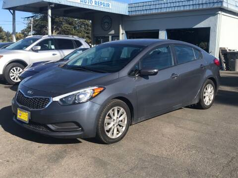 2016 Kia Forte for sale at HARE CREEK AUTOMOTIVE in Fort Bragg CA