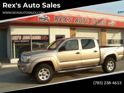 2005 Toyota Tacoma for sale at Rex's Auto Sales in Junction City KS