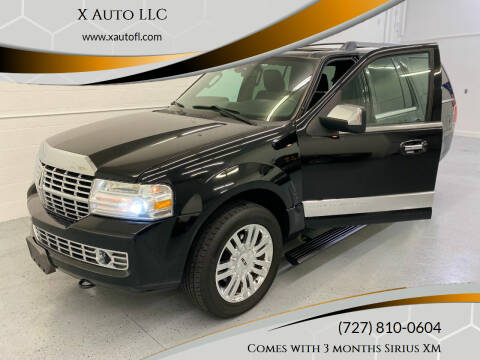 2009 Lincoln Navigator for sale at X Auto LLC in Pinellas Park FL