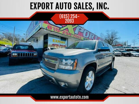 2008 Chevrolet Suburban for sale at EXPORT AUTO SALES, INC. in Nashville TN