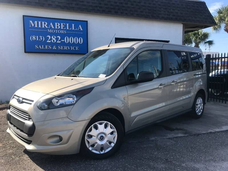 2015 Ford Transit Connect Wagon for sale at Mirabella Motors in Tampa FL