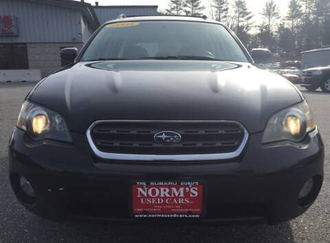 2005 Subaru Outback for sale at NORM'S USED CARS INC in Wiscasset ME