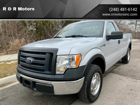 2010 Ford F-150 for sale at R & R Motors in Waterford MI