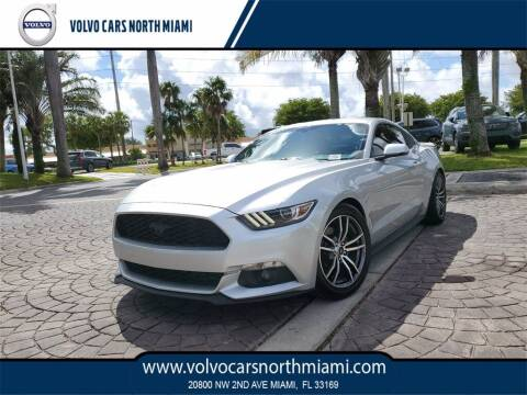 2017 Ford Mustang for sale at Volvo Cars North Miami in Miami FL