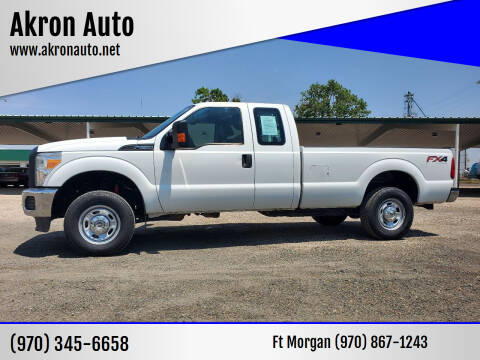 2014 Ford F-250 Super Duty for sale at Akron Auto - Fort Morgan in Fort Morgan CO