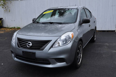 2014 Nissan Versa for sale at Horseless Carriage LLC in Milford NH