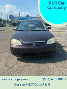 2001 Honda Civic for sale at R&R Car Company in Mount Clemens MI