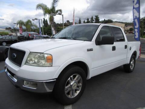 2005 Ford F-150 for sale at Eagle Auto in La Mesa CA