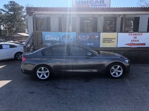 2013 BMW 3 Series for sale at Unicar Enterprise in Lexington SC