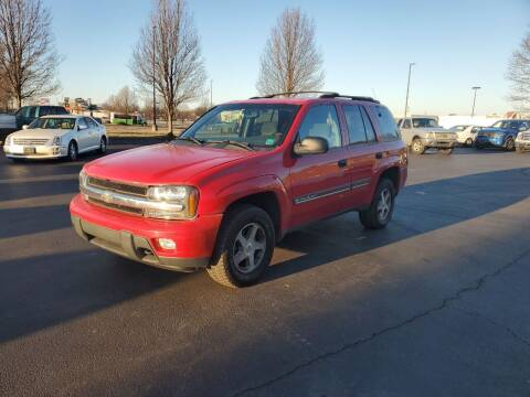 2002 Chevrolet TrailBlazer for sale at Boardman Auto Exchange in Youngstown OH