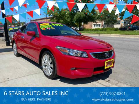 2010 Honda Accord for sale at 6 STARS AUTO SALES INC in Chicago IL