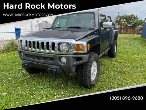 2007 HUMMER H3 for sale at Hard Rock Motors in Hollywood FL