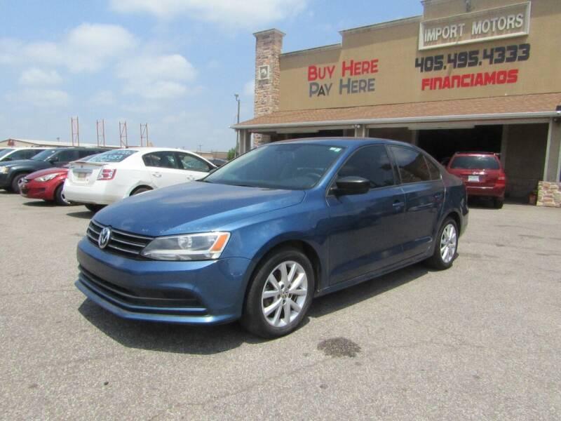 2015 Volkswagen Jetta for sale at Import Motors in Bethany OK