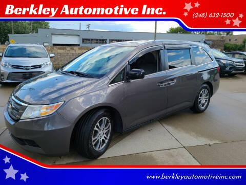 2013 Honda Odyssey for sale at Berkley Automotive Inc. in Berkley MI