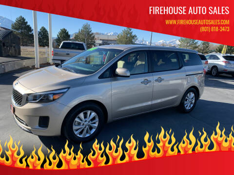 2017 Kia Sedona for sale at Firehouse Auto Sales in Springville UT
