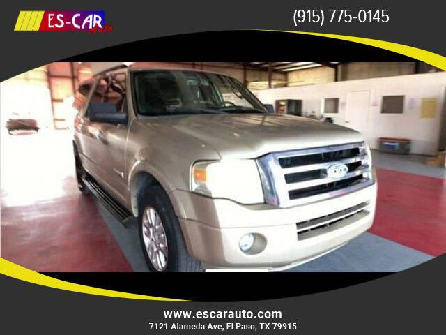 2008 Ford Expedition EL for sale at Escar Auto in El Paso TX