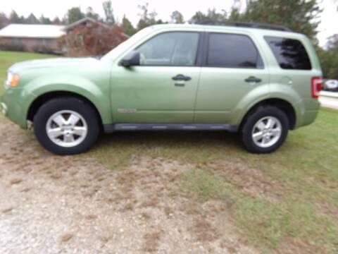2008 Ford Escape for sale at CHRIS AUTO SALES in Roanoke AL