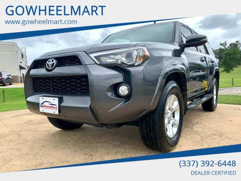 2016 Toyota 4Runner for sale at GOWHEELMART in Leesville LA