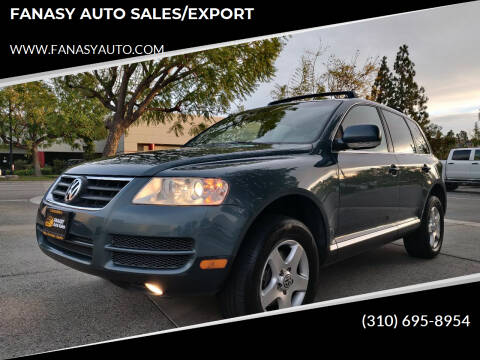 2006 Volkswagen Touareg for sale at FANASY AUTO SALES/EXPORT in Yorba Linda CA