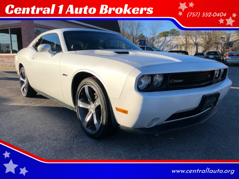 2014 Dodge Challenger for sale at Central 1 Auto Brokers in Virginia Beach VA