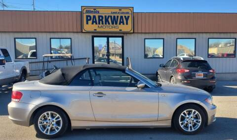 2008 BMW 1 Series for sale at Parkway Motors in Springfield IL