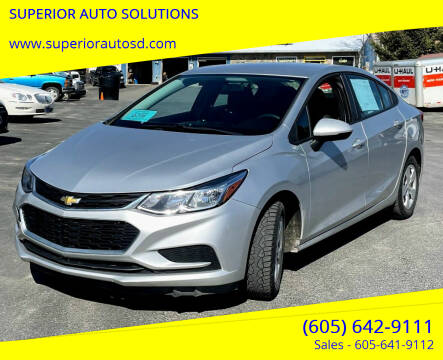 2016 Chevrolet Cruze for sale at SUPERIOR AUTO SOLUTIONS in Spearfish SD