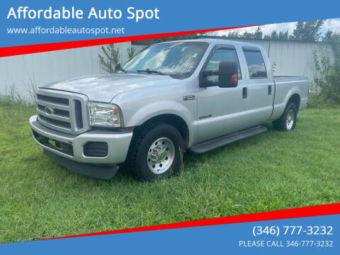 1999 Ford F-250 Super Duty for sale at Affordable Auto Spot in Houston TX