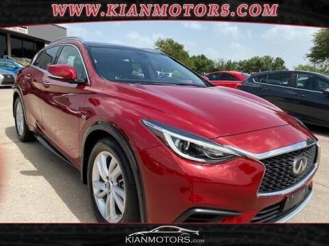 2019 Infiniti QX30 for sale at KIAN MOTORS INC in Plano TX
