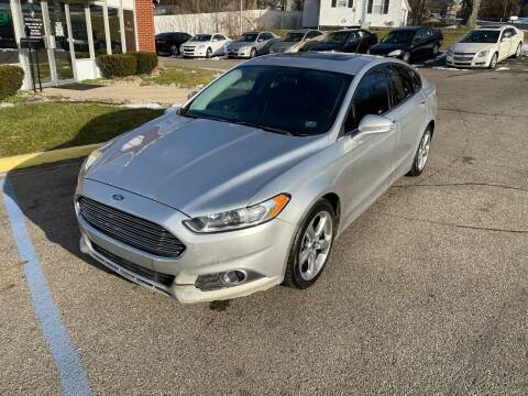 2013 Ford Fusion for sale at Bronco Auto in Kalamazoo MI