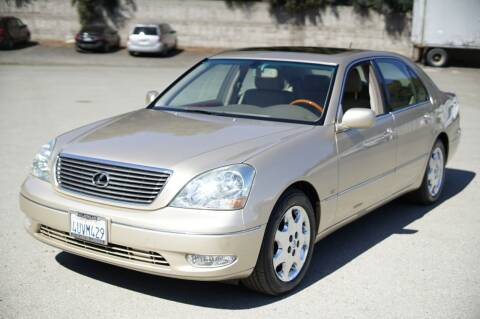 2002 Lexus LS 430 for sale at Sports Plus Motor Group LLC in Sunnyvale CA