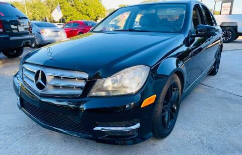 2013 Mercedes-Benz C-Class for sale at Testarossa Motors Inc. in League City TX