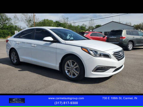 2015 Hyundai Sonata for sale at Carmel Auto Group in Indianapolis IN