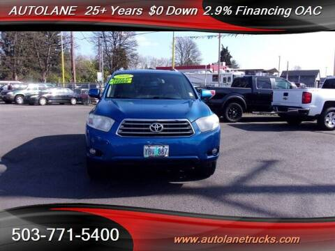 2009 Toyota Highlander for sale at Auto Lane in Portland OR
