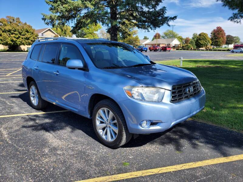 2008 Toyota Highlander Hybrid for sale at Tremont Car Connection in Tremont IL