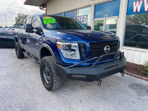 2017 Nissan Titan XD for sale at Lee Auto Group Tampa in Tampa FL