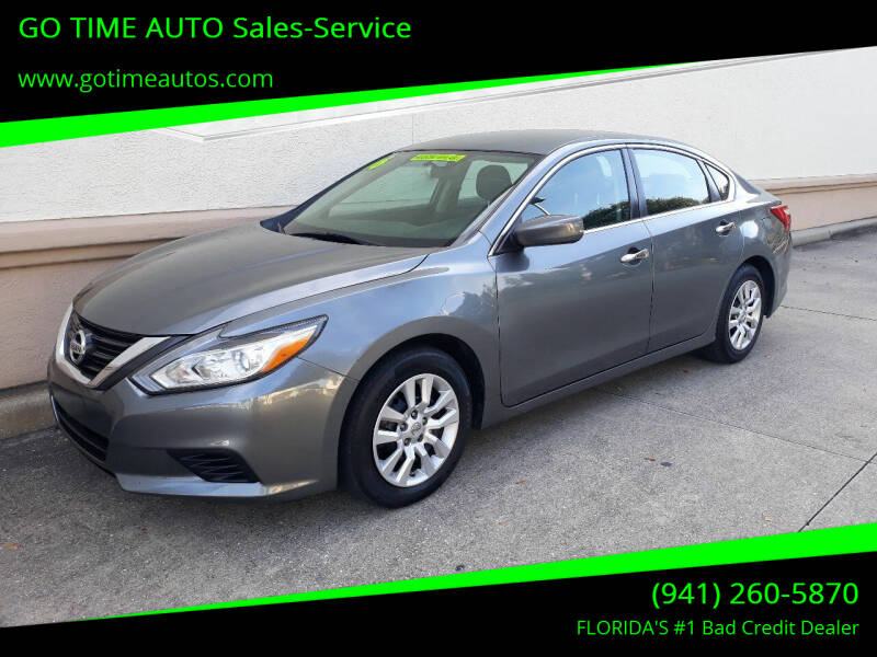 2016 Nissan Altima for sale at Go Time Automotive in Sarasota FL