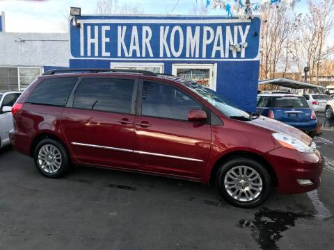 2007 Toyota Sienna for sale at The Kar Kompany Inc. in Denver CO