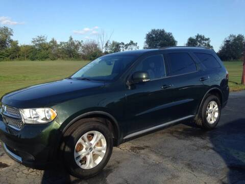 2011 Dodge Durango for sale at EAGLE ONE AUTO SALES in Leesburg OH