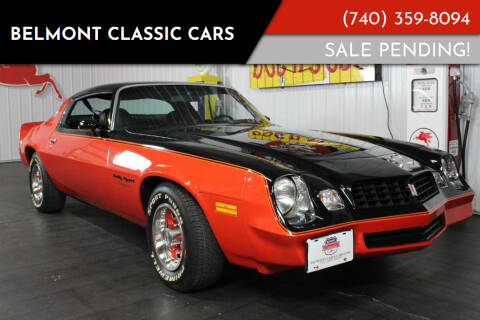 1978 Chevrolet Camaro for sale at Belmont Classic Cars in Belmont OH
