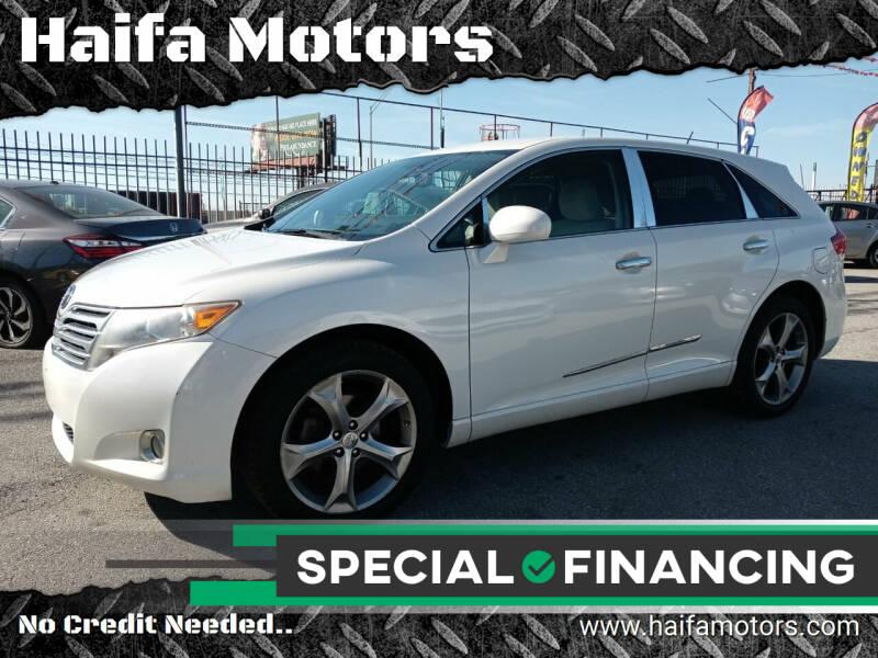 2010 Toyota Venza for sale at Haifa Motors in Philadelphia PA