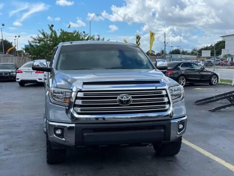 2018 Toyota Tundra for sale at Auto Mayella in Miami FL