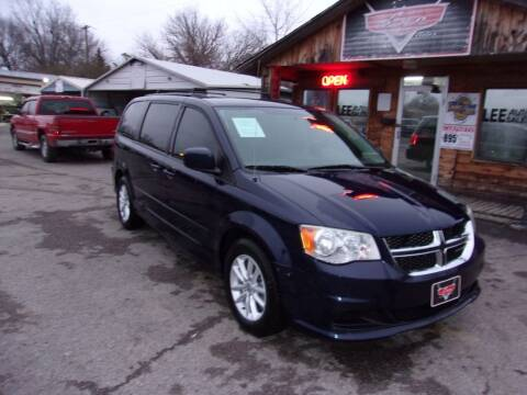 2014 Dodge Grand Caravan for sale at LEE AUTO SALES in McAlester OK