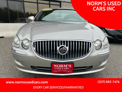 2008 Buick LaCrosse for sale at NORM'S USED CARS INC in Wiscasset ME