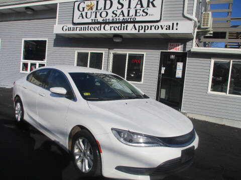 2015 Chrysler 200 for sale at Gold Star Auto Sales in Johnston RI