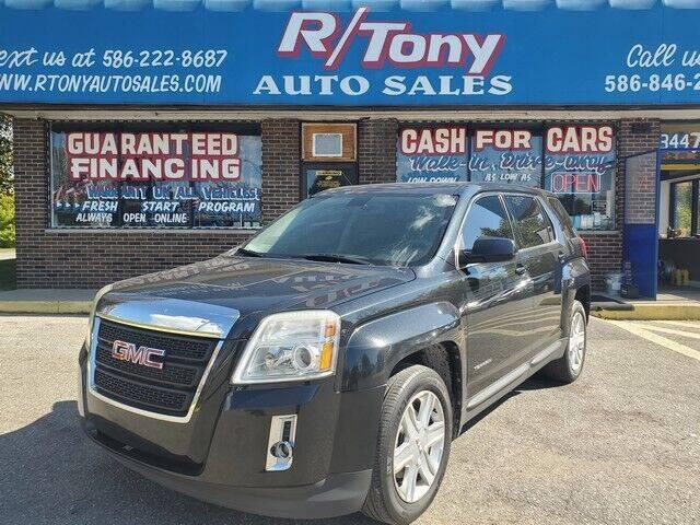 2011 GMC Terrain for sale at R Tony Auto Sales in Clinton Township MI