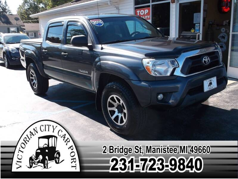 2015 Toyota Tacoma for sale at Victorian City Car Port INC in Manistee MI