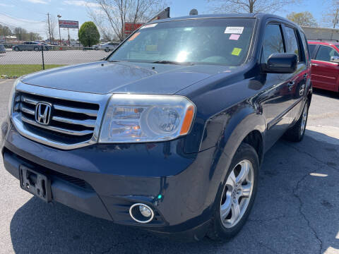 2012 Honda Pilot for sale at Diana Rico LLC in Dalton GA