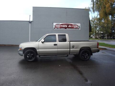 2001 Chevrolet Silverado 1500 for sale at Motion Autos in Longview WA