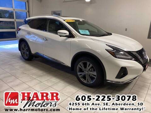 2019 Nissan Murano for sale at Harr's Redfield Ford in Redfield SD