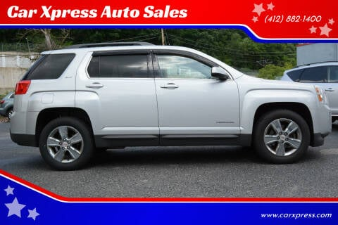 2014 GMC Terrain for sale at Car Xpress Auto Sales in Pittsburgh PA